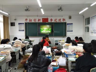 """大邑职高""""一木环保,生态大邑,绿色校园"""""""