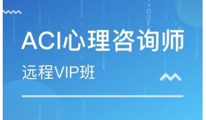 ACI心理咨询师-远程VIP班