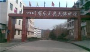 四川省乐至县大佛中学
