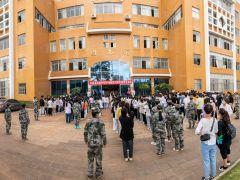 云南省民族中等专业学校举办2019级实习学生供需见面会